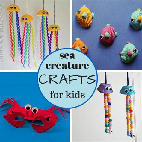 Sea Creature Crafts For Crafts Crafts For And Kid