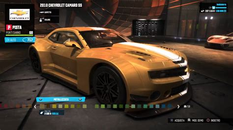 Auto Tuning Ps4 by The Crew Chevrolet Camaro Ss Kit Pista Tuning