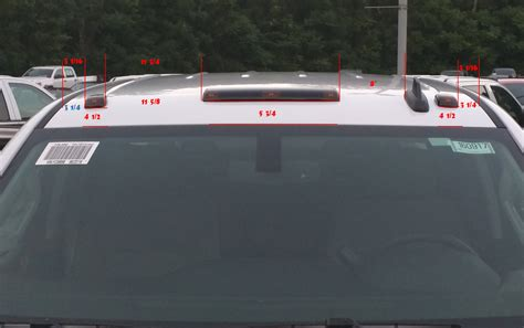 2015 Cab Light Install On Non Cab Light Truck Chevy Truck Forum Gmc Truck Forum Gmfullsize Com Chevy Cab Lights Template