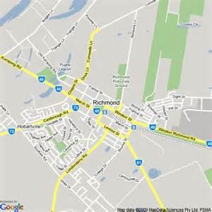 map of richmond nsw hotels accommodation