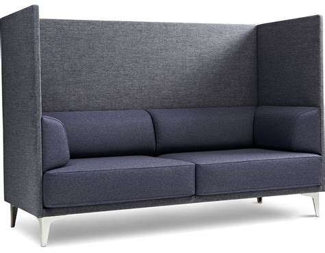 couch with high back ej400 apoluna box high back 2 seat sofa hivemodern com