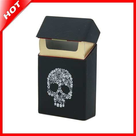 Buy Cover by Holds 20 Cigarettes Skull Silicone Cigarette Fashion