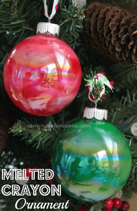 diy crayon ornaments paper snowflakes cpl teen zone