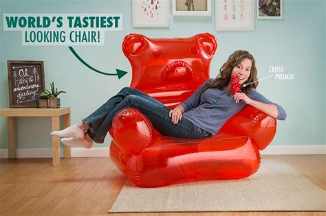 giant inflatable sofa a giant inflatable gummy bear lounge chair