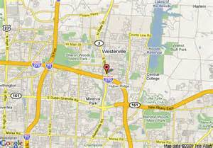 Westerville Ohio Map by Map Of Baymont Inn Amp Suites Westerville Westerville