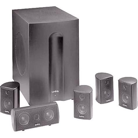infinity tss 450pl home theater speaker system tss 450plt b h