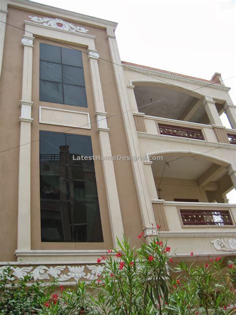 3 Floor Building Design by Haydarabad Bilding Elevation Studio Design Gallery