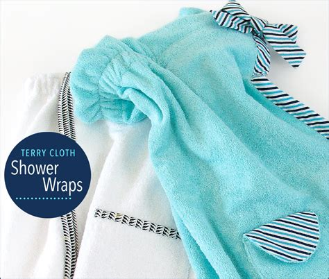 terry cloth shower wraps for fabric depot