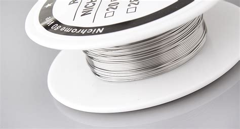 Vaportech Kanthal Wire Nichrome 80 10m 3 37 nichrome 80 resistance wire for rebuildable atomizers 10m 26 awg 0 4mm 10m 0 22ohm