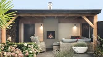 veranda stijlvolle veranda met openhaard