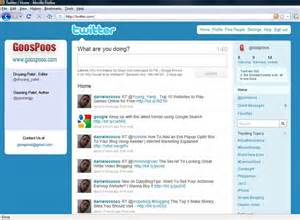 Change the twitter background to your custom image check goospoos