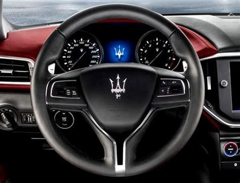 maserati steering wheel driving the steering wheel of the maserati ghibli torque
