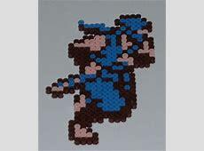 Ninja Gaiden Bead Sprite by monochrome-GS on DeviantArt Ninja Gaiden Nes Sprite