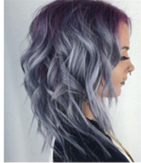 brunette hair gray riots popular wig pink highlights aliexpress of smoke gray hair