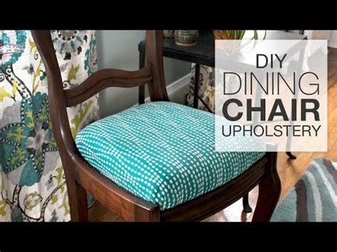 upholstery how to how to reupholster dining chairs diy tutorial youtube