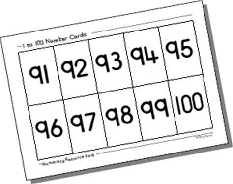 printable number cards 1 to 100 number flash cards 1 20 new calendar template site