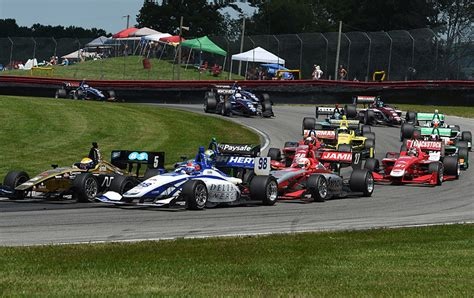 Indy Lights by Indy Lights Title Could Be Clinched At Gateway Prior To