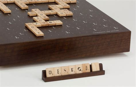 scrabble ed scrabble typography 2nd edition the dieline packaging