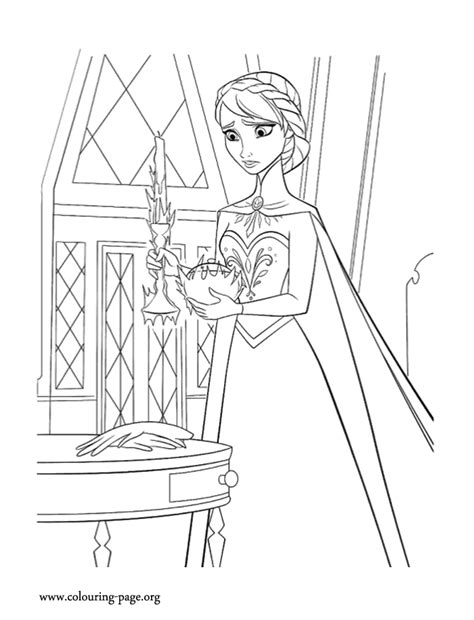 elsa magic coloring page frozen elsa trying to control her magic coloring page