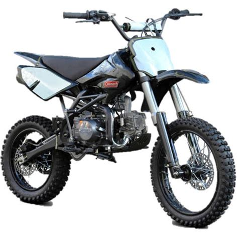 125cc motocross bikes coleman 125cc gas powered dirt bike ebay