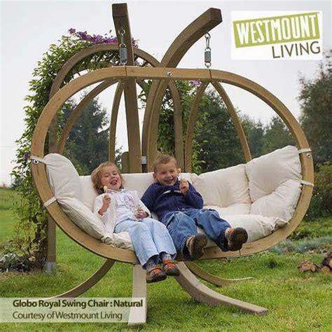 double hammock swing new luxury globo royal double hammock hang garden swing