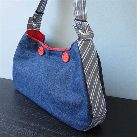 free pattern hobo bag nautical hobo bag free sewing tutorial