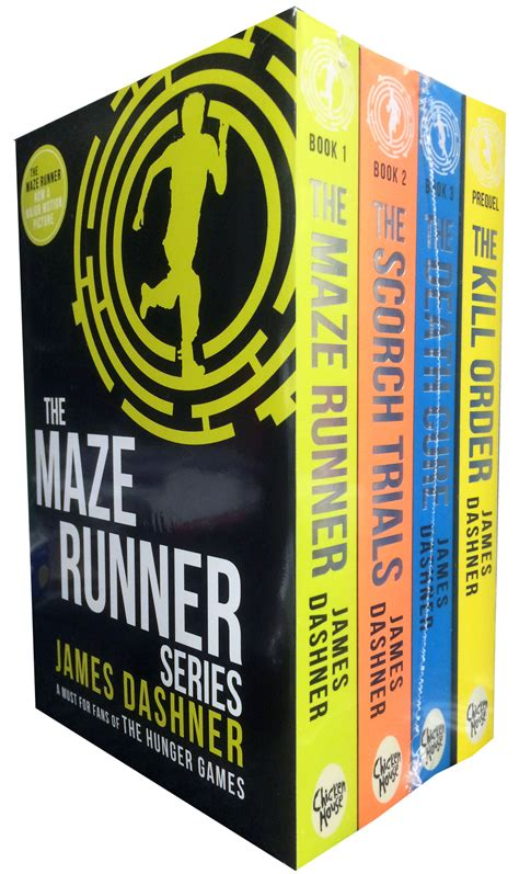 the last runner books maze runner series 4 book set dashner the