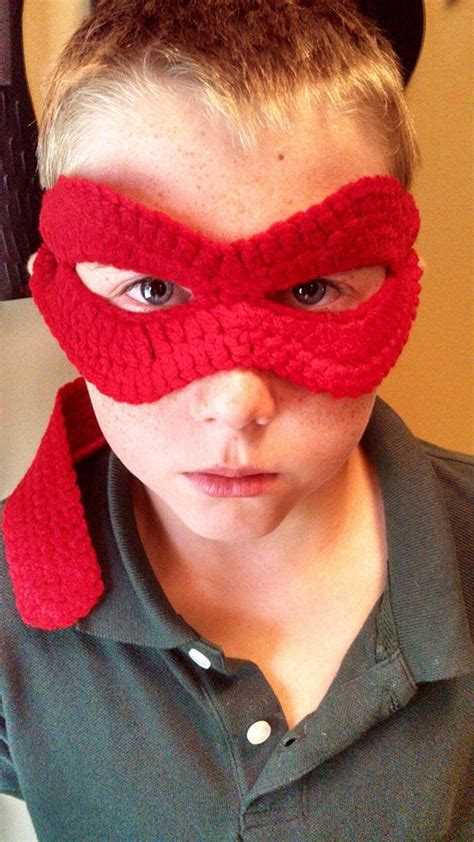crochet pattern ninja mask ninja turtle mask stitch11