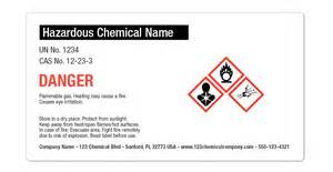Chemical Label Template by Getting Your Hazard Labels Osha Ready Onlinelabels