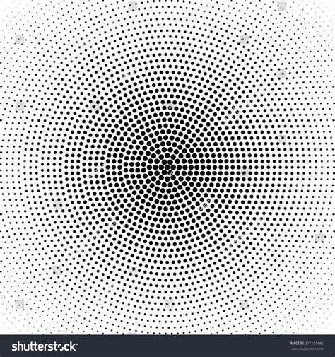 svg radial pattern vector radial gradient halftone black background stock