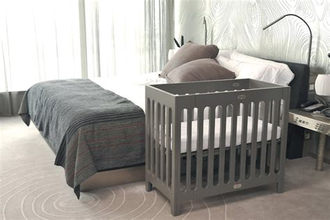 Alma Bloom Mini Crib Kinderboo Alma Mini Crib By Bloom