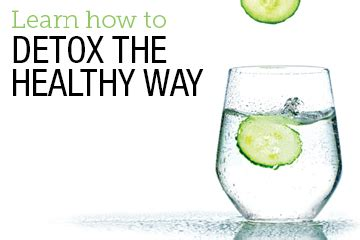 Healthy Ways Of Detoxing by Detox The Healthy Way Neolife