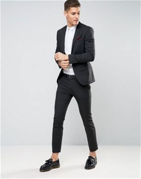 Black Formal Style Suit 41444 s suits s designer tailored suits asos