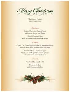 seasonal centerpiece christmas menu template archive
