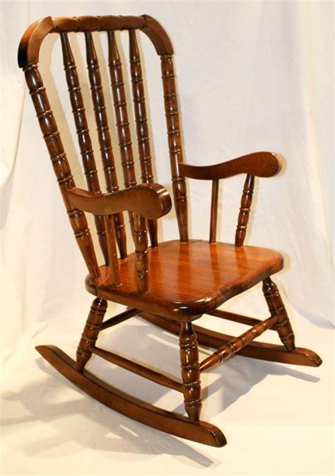 vintage childrens wooden rocking chair vintage children s wood rocking chair lind