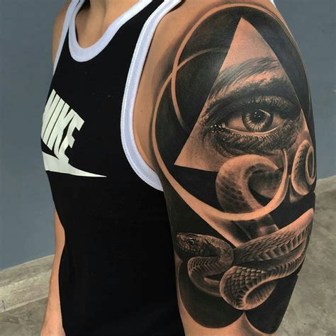 sholder tattoo snake shoulder best ideas gallery
