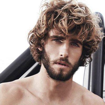 curly haircuts dublin alex libby with medium length curls plus a beard curly
