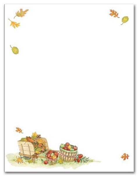 printable autumn stationery 1000 images about thanksgiving stationery on pinterest