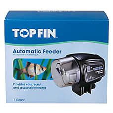 Top Fin Automatic Fish Feeder top fin 174 fin automatic fish feeder fish feeders petsmart