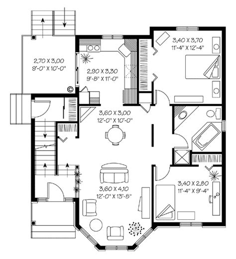 sabrina the witch house floor plan multi family plan 65323 at familyhomeplans