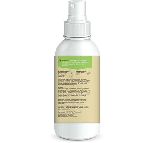 Doggie Tick Spray pet naturals flea tick repellent spray 8 oz