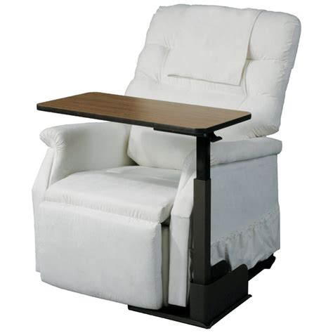 recliner table laptop seat life chair table overbed tray tables at tv tray