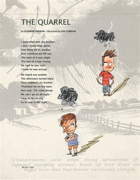 The Quarrel the quarrel poetry
