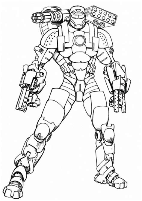 iron man coloring page coloring pages drawings