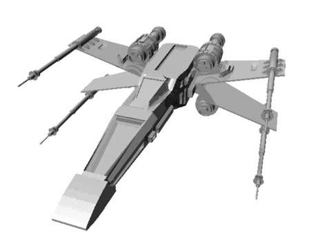 best x wing model x wing model my 1st 3d model by apprentice on