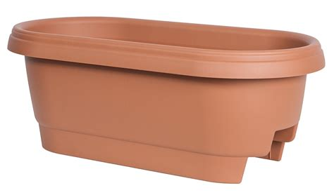 24 Inch Garden Pots Fiskars Deck Rail Planter 24 Inch Plans Flower Outdoor