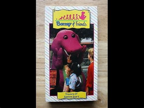 The Treasure Of Time opening to barney the treasure of rainbow beard 1992 vhs