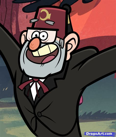 grunkle stan tattoo gravity falls grunkle stans wallpaper