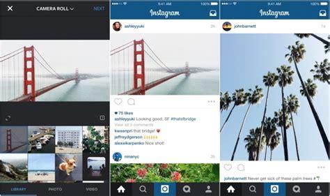 Landscape Photos Aspect Ratio Instagram 7 5 Brings Support For Landscape And Portrait