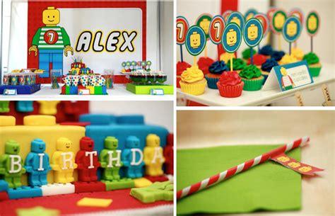 lego themed birthday supplies kara s party ideas lego blocks boy 7th birthday party